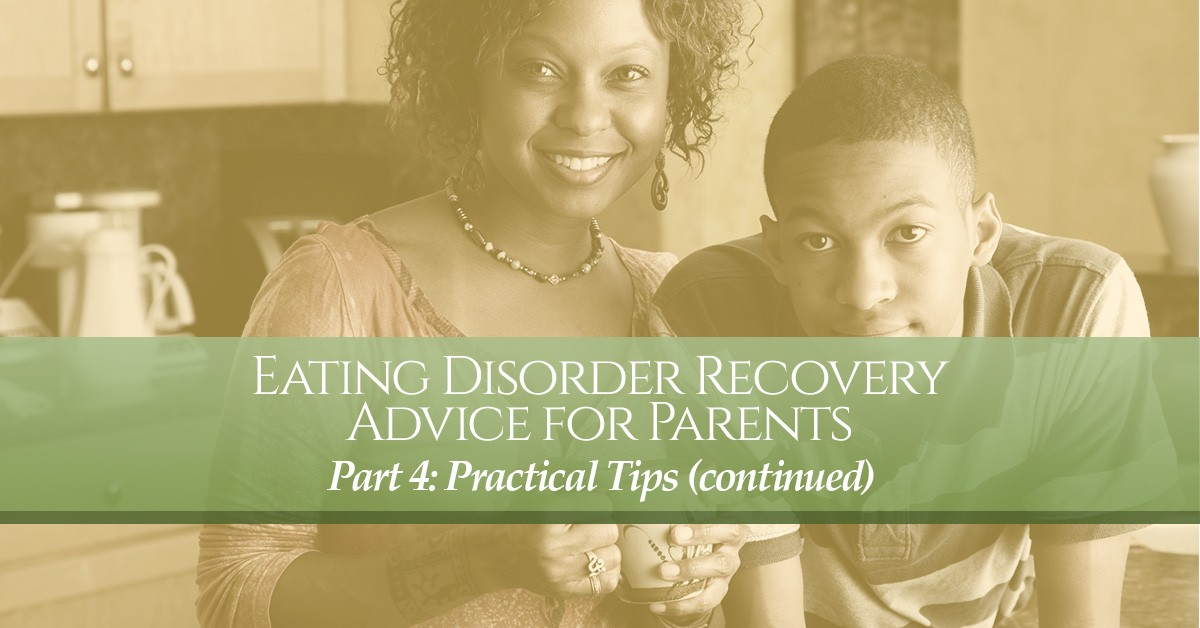 Eating Disorder Recovery Advice for Patients